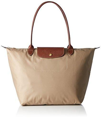 Oferta: 108.11€. Comprar Ofertas de Longchamp - Bolso de tela para mujer beige beige barato. ¡Mira las ofertas!