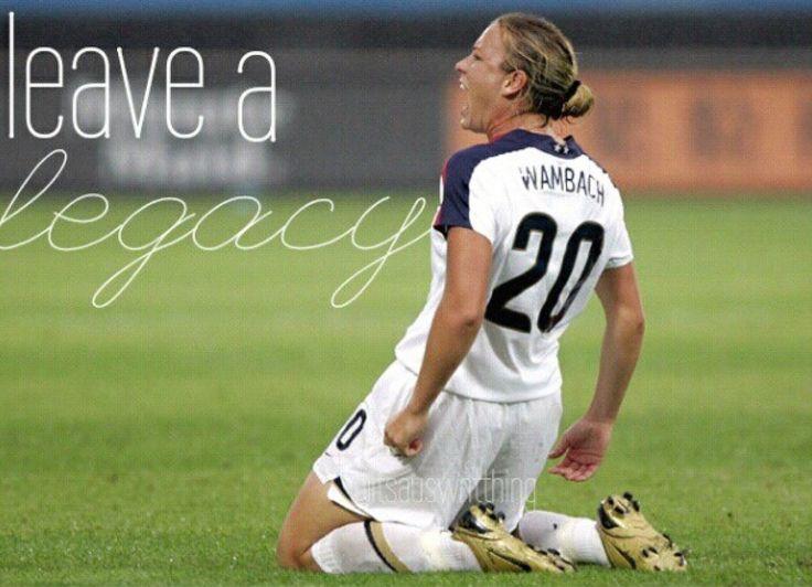 #USWNT - Abby Wambach #20 #Soccer
