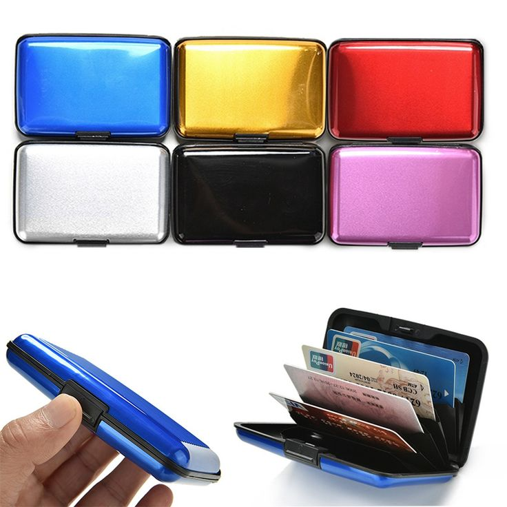 $1.08 (Buy here: https://alitems.com/g/1e8d114494ebda23ff8b16525dc3e8/?i=5&ulp=https%3A%2F%2Fwww.aliexpress.com%2Fitem%2FAluminum-Metal-Bankcard-Blocking-Hard-Case-Wallet-Credit-Card-Anti-RFID-Scanning-Protect-Holder-LT88%2F32797049947.html ) Aluminum Metal Bankcard Blocking Hard Case Wallet Credit Card Anti-RFID Scanning Protect Holder LT88 for just $1.08