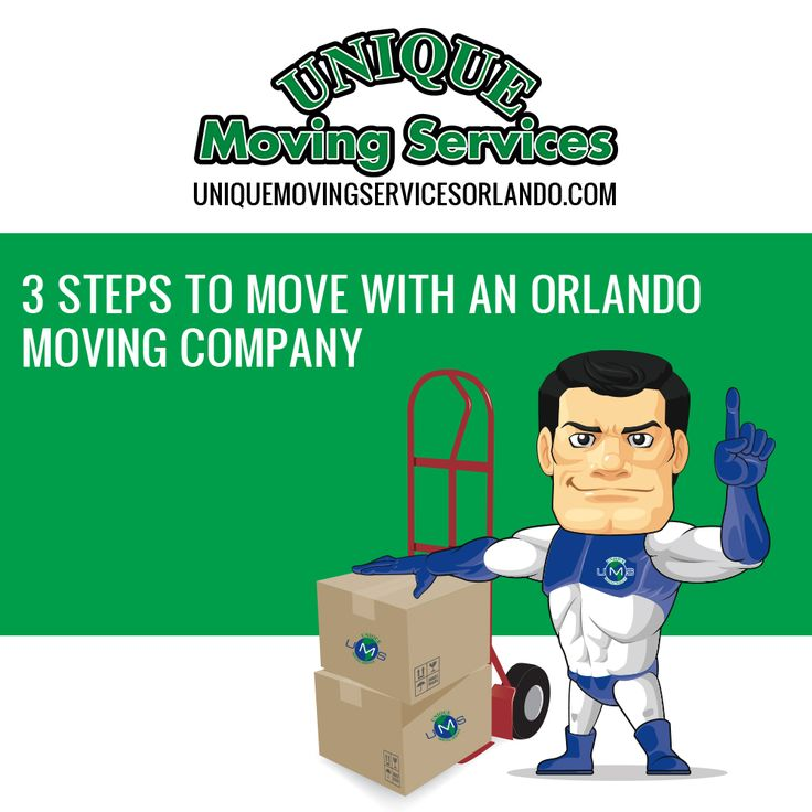 3 Steps to Move with an Orlando Moving Company  Orlando Moving Company Many people are confused as to what to do when they need to move or what they should expect when they hire a Orlando moving company. Luckily, we have compiled the moving process into 3 easy steps. Follow the steps below and you'll get all the information you need...