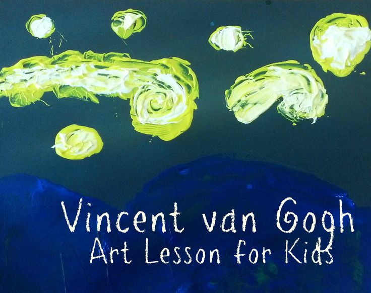 kids u0026 39  art lesson  vincent van gogh