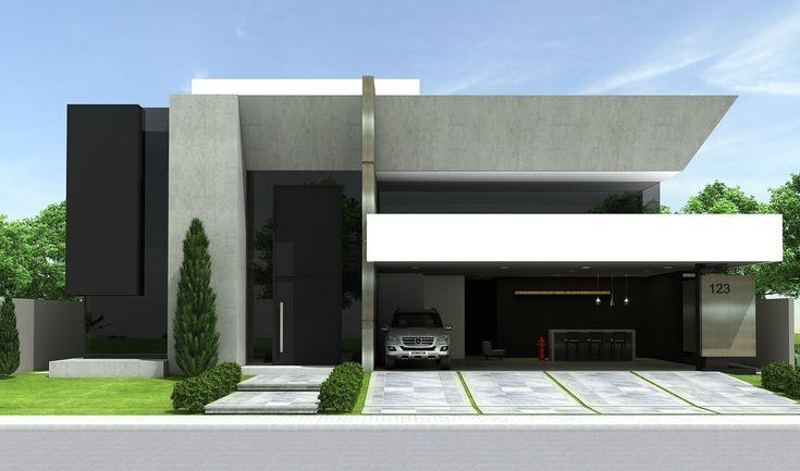 Projetos | CostaFizinus Arquitetos #fachadasmodernassobrado