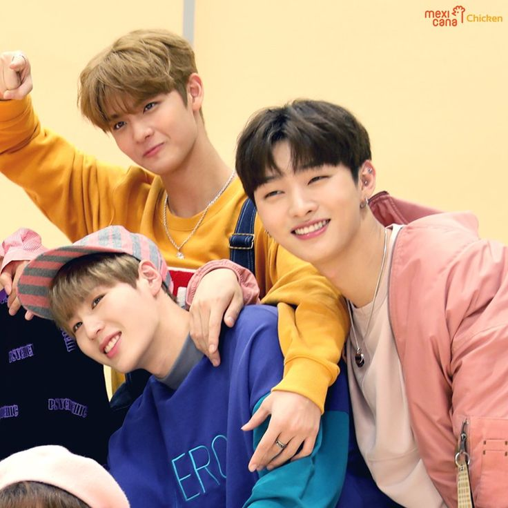Mexicana Chicken x Wanna One Jinyoung, Jisung, and Sungwoon