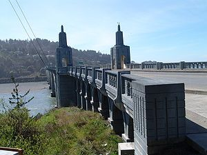 The community was originally named Ellensburg in the 1850s, but later took the name Gold Beach after a beach near the mouth of the Rogue River where hundreds of placer mines extracted gold.[9]