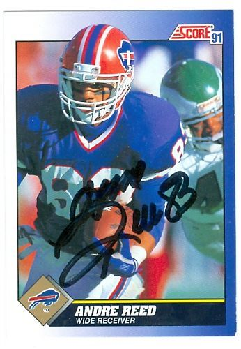 #1 WR #4 Bill 19851999 Andre Reed enters the HOF today 1991 score 53  Compares to Henry Ellard, James Lofton*, Tim Brown, Cris Carter*, Raymond Berry*, Art Monk*, Isaac Bruce, Charlie Joiner*, Steve Largent*, Keenan McCardell
