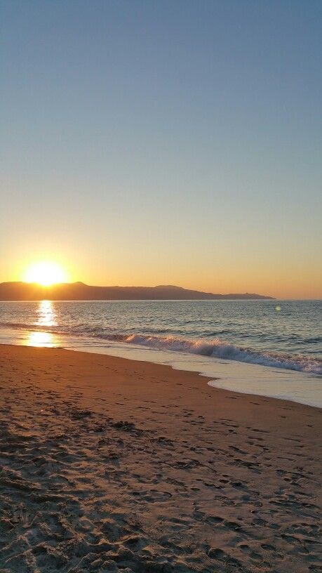 Platanias Crete Sunset