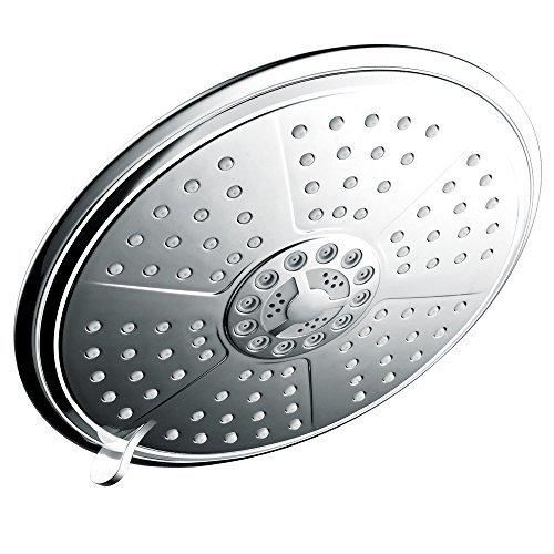 HotelSpa Extra Large 7 Inch Rain Shower Head For Exceptional Water  Coverage! High