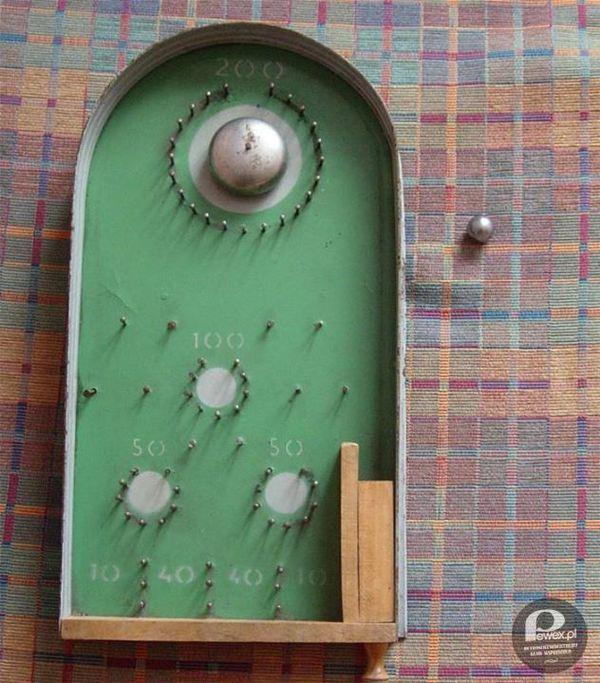 Pinball z PRL'u – Prosta konstrukcja, a ile sprawiała radości.
