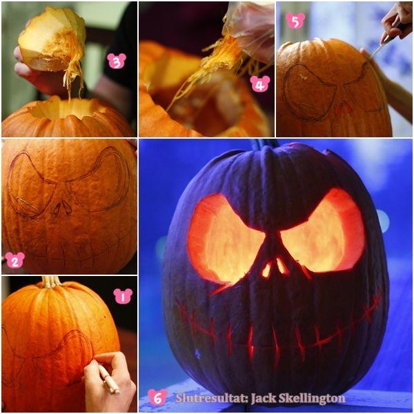 We made Jack Skellington this Halloween, I love Tim Burton.  #pumpkin #Jack #Skellington #halloween