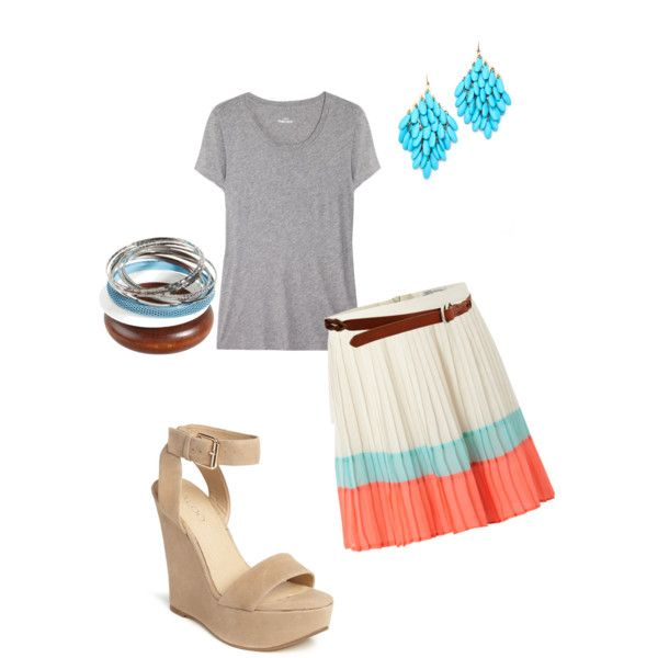 casual fourth of july  made by katherineezell on polyvore: July, Imaginary Closet, Polyvore, Casual Fourth, Katherineezell