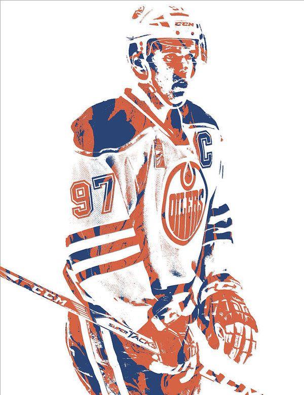 Connor Mcdavid Edmonton Oilers Pixel Art 2 Art Print By Joe Hamilton In 2020 Edmonton Oilers Connor Mcdavid Mcdavid