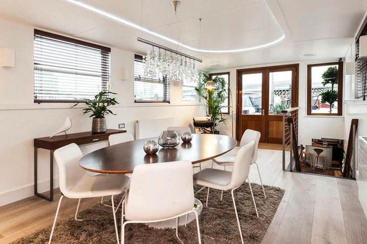 residential barge houseboat london