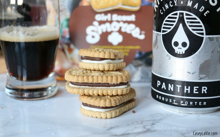 Girl Scout Cookies and Beer Pairing Guide Girl scout