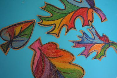 Sandpaper Art - use regular crayons on sandpaper for vibrant, textured drawings.