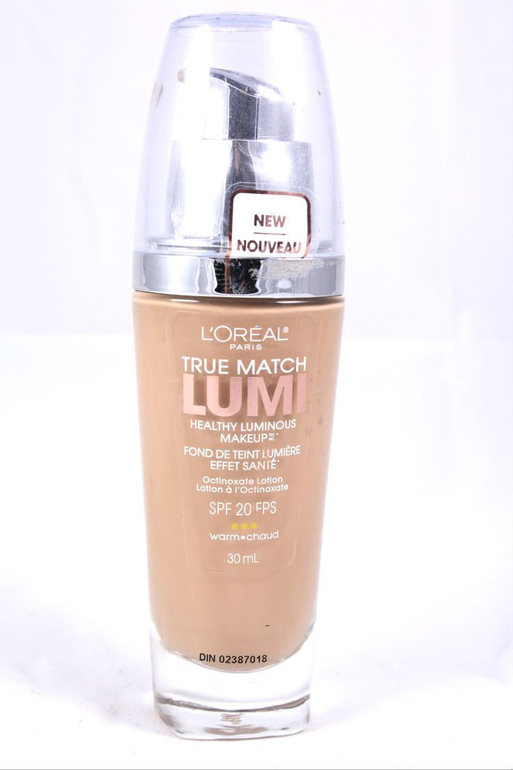 L'Oreal True Match Lumi Foundation Natural Beige- Review ...