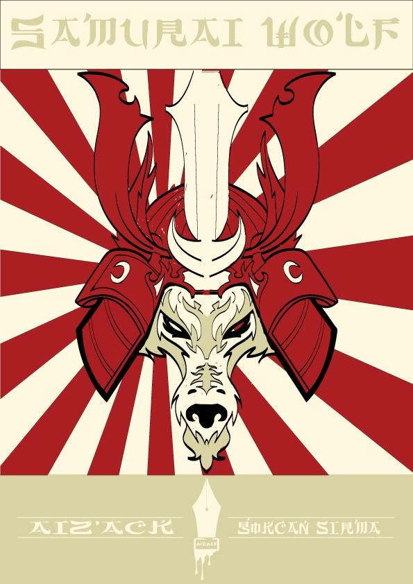Samurai Wolf  By Aiz'Ack