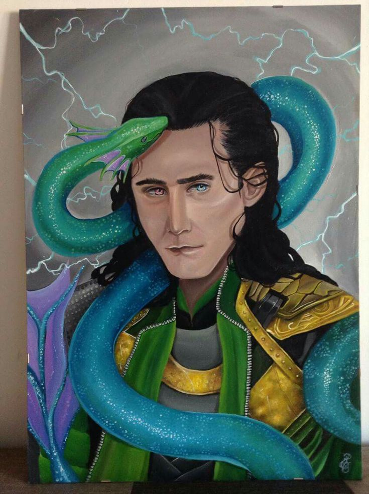 Better quality photo for this painting ~