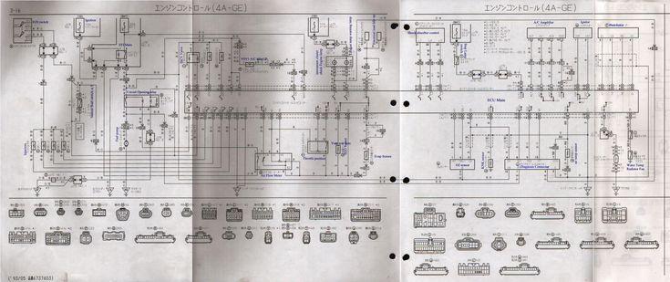 3sge Beams Blacktop Wiring Diagram In 2020