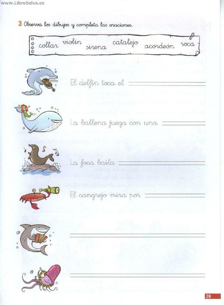 ISSUU - Comprension lectora 1º Santillana by Mª Asunción Cabello