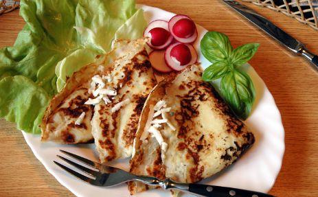 Brynzové palačinky / Brynza pancakes