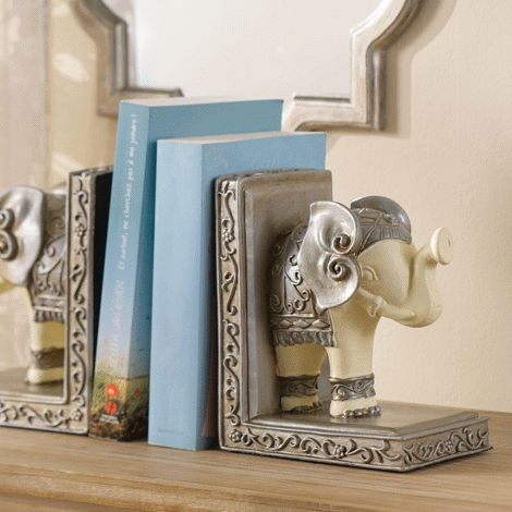 You will love this product from Avon:  Elephant Bookends Reg. $24.99 now only $16.99