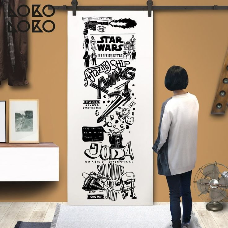 M s de 1000 ideas sobre vinilos para puertas en pinterest for Decoracion de cuarto star wars