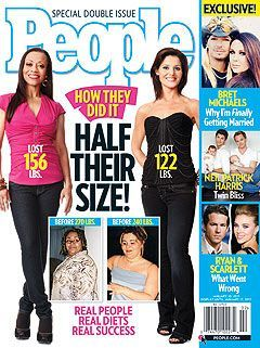 PEOPLE Magazine's 'Half Their Size' Issue Features SparkPeople Member!   SparkPeople