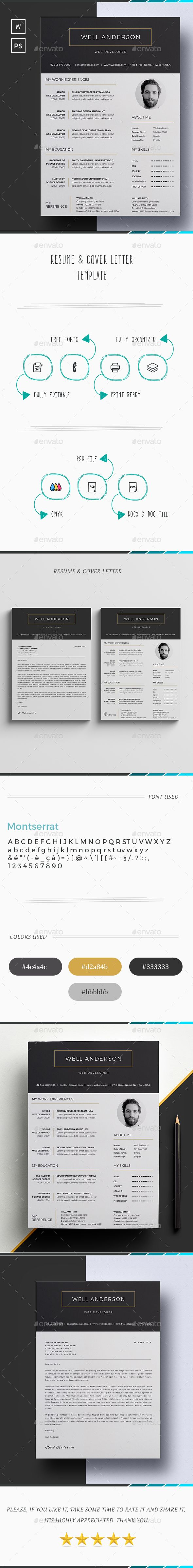 Resume 45 best Design cv images on