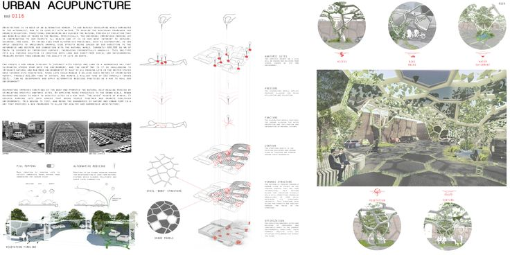 """HONORABLE MENTION REG. NO. 0116 """"Urban Acupuncture"""" by Tyler Laird, Harrison Smith (Architecture Students, University of Colorado Boulder)."""