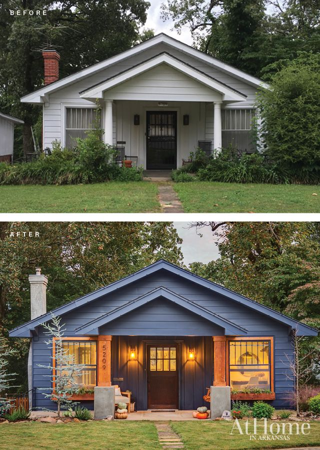 Creating Cozy At Home In Arkansas Craftsman Cottage House Styles House Exterior