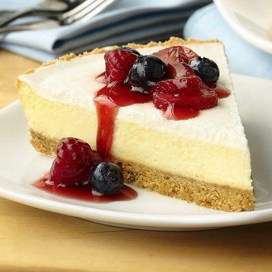 L'originale torta cheesecake americana