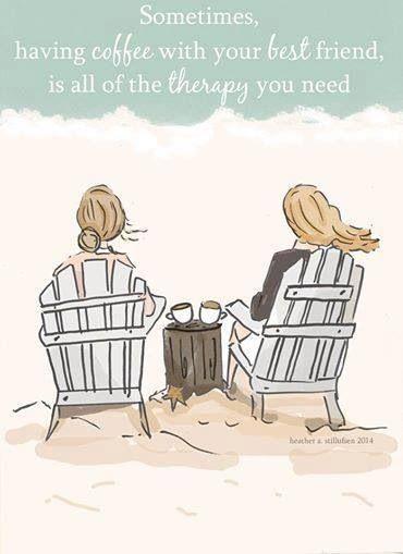 A veces, todo lo que necesitas es un café con tu mejor amiga. #ProyectoPlato #SinDesechables