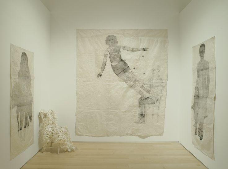 Kiki Smith Paintings   Kiki Smith Sojourn Installation Image- Gallery 7. This image includes: