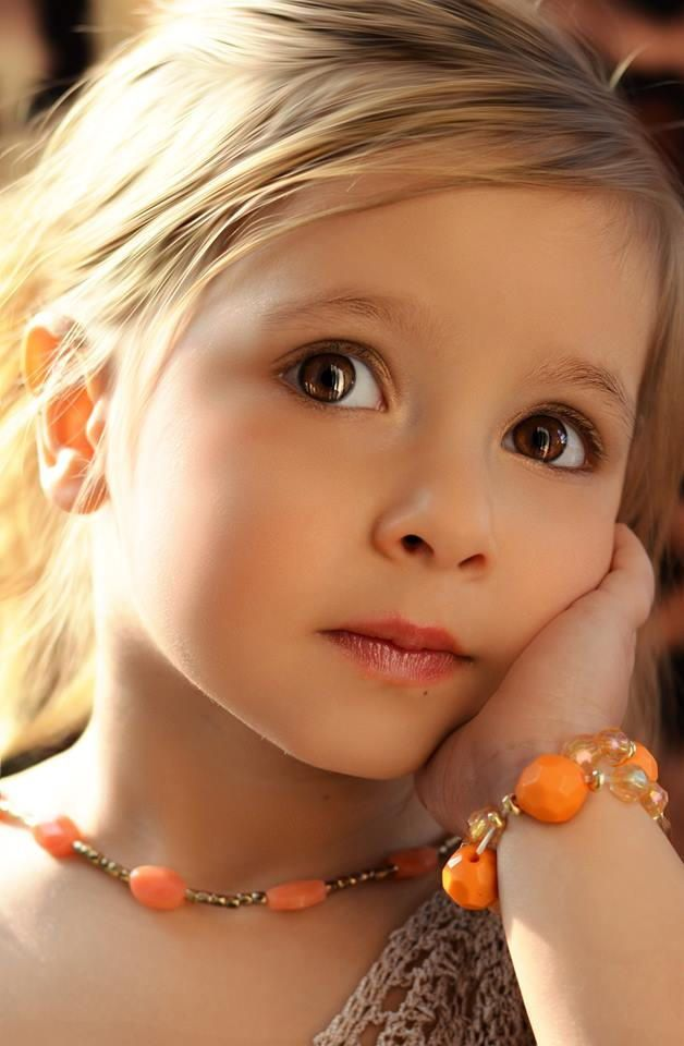 in the eyes of a child, the world somehow looks more beautiful