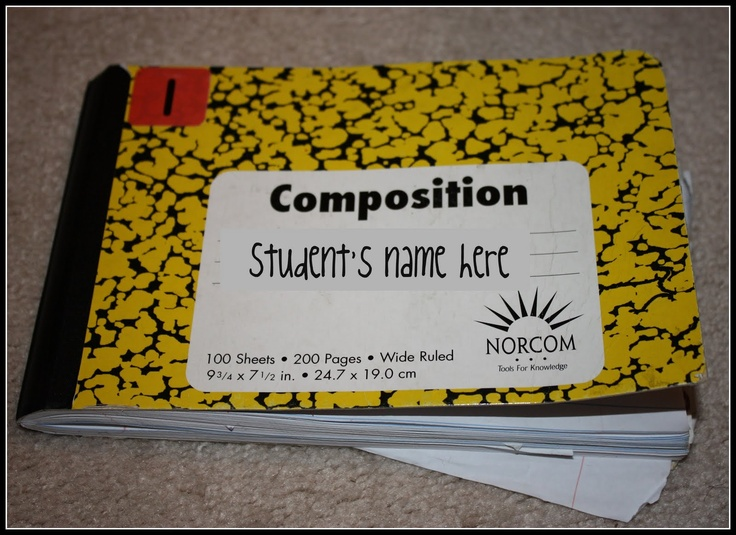 Cut in half notebooks for math, science, etc.Classroom Math, Hardware Stores, Schools Ideas, Composition Notebooks, Schools Stuff, Teaching Ideas, Math Ideas, Classroom Ideas, Math Journals