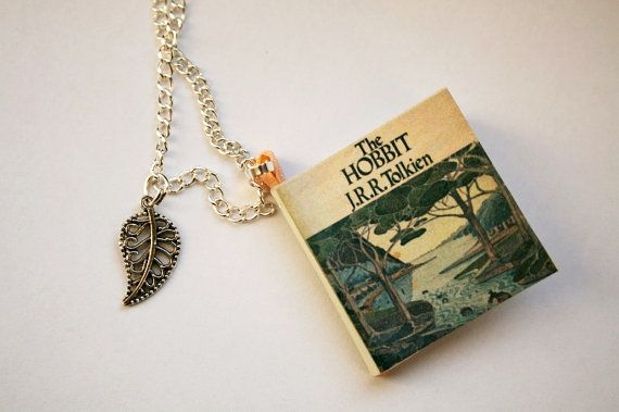 In a hole in the ground there lived a hobbit.    Thats how it all started, and you know the rest :)  A little necklace book - with over 30
