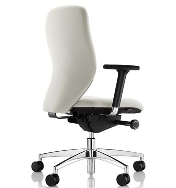 Amazing Boss Design Lily Office Chair Polished Base