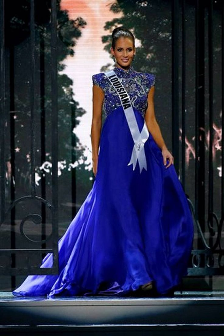 Miss Louisiana USA 2014 Evening Gown: HIT or MISS | http://www.thepageantplanet.com/miss-louisiana-usa-2014-evening-gown-2/