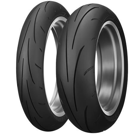 Dunlop SPORTMAX Q3 Tires. *Carbon Fiber Technology (CFT)*