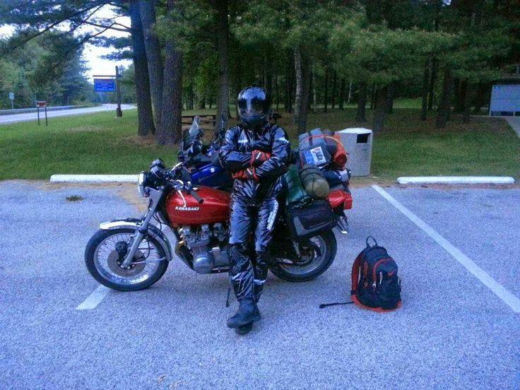 Respro PVC motorcycle rain suit