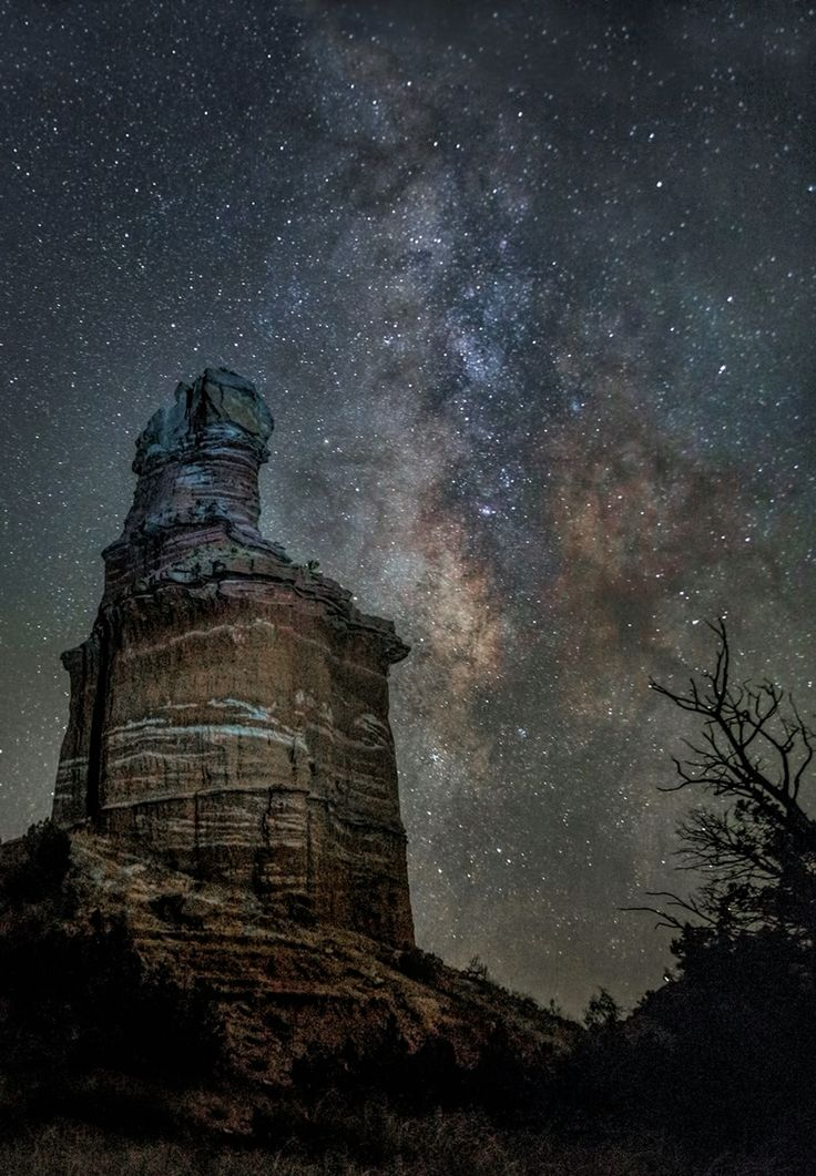 Jim Livingston - Lighthouse in Palo Duro Canyon
