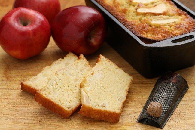 Dessert sans sucre : gâteau aux pommes sans sucre