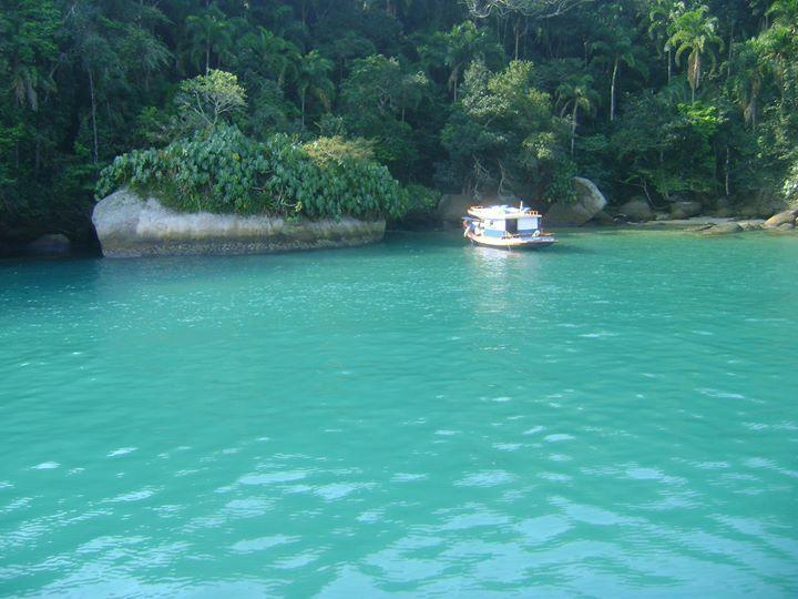 Lagoa azul, Paraty - Rio de janeiro