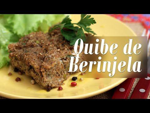 Como fazer Quibe de Berinjela - YouTube