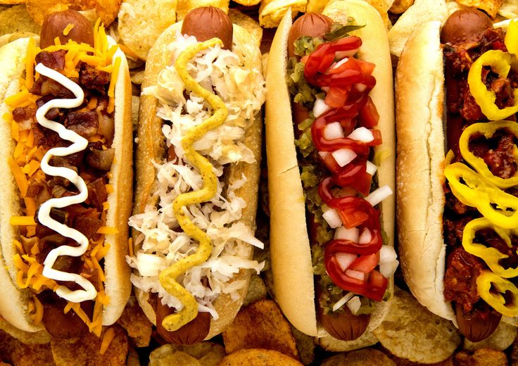 Regional Hot Dog Toppings