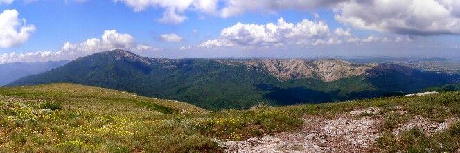 гора Четырдаг , Крым.