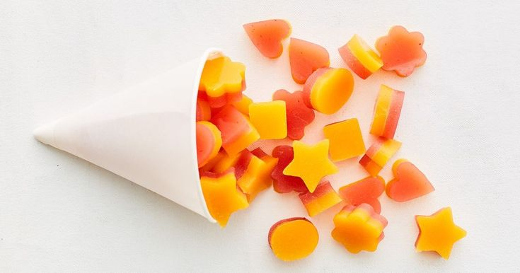 These refined sugar-free gummies are packed with real strawberry and mango, making them an ideal kids' lunch box snack.