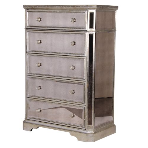 Venetian Distressed Tallboy|Drawers & Cabinets|Storage|French Bedroom Company