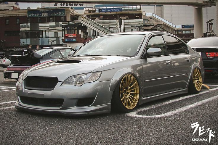 #Subaru_Legacy #Slammed #Stance #Modified