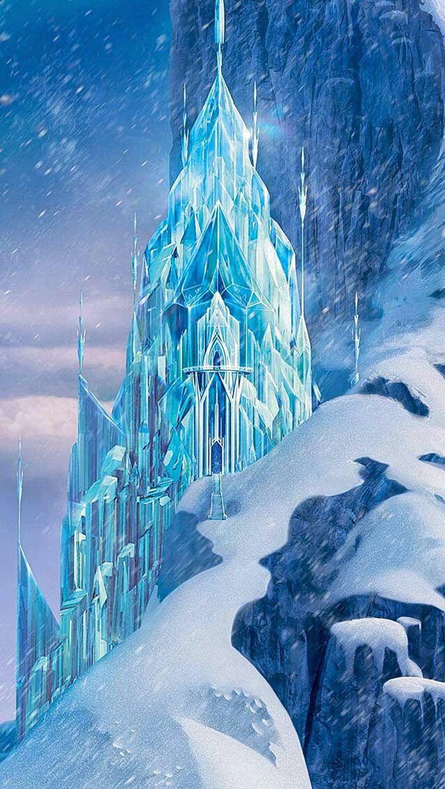 Elsa's ice castle from frozen